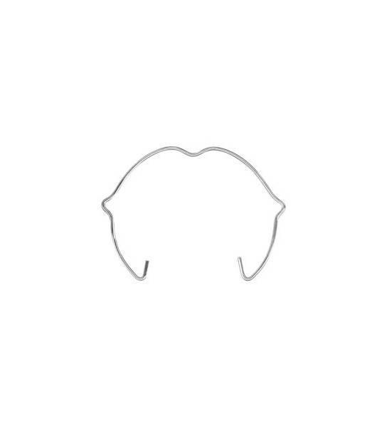 Bague Clip pour spot MR16 50mm accessoire pour ampoule avec encoches - BAGUES CLIPS - siageo-led.com