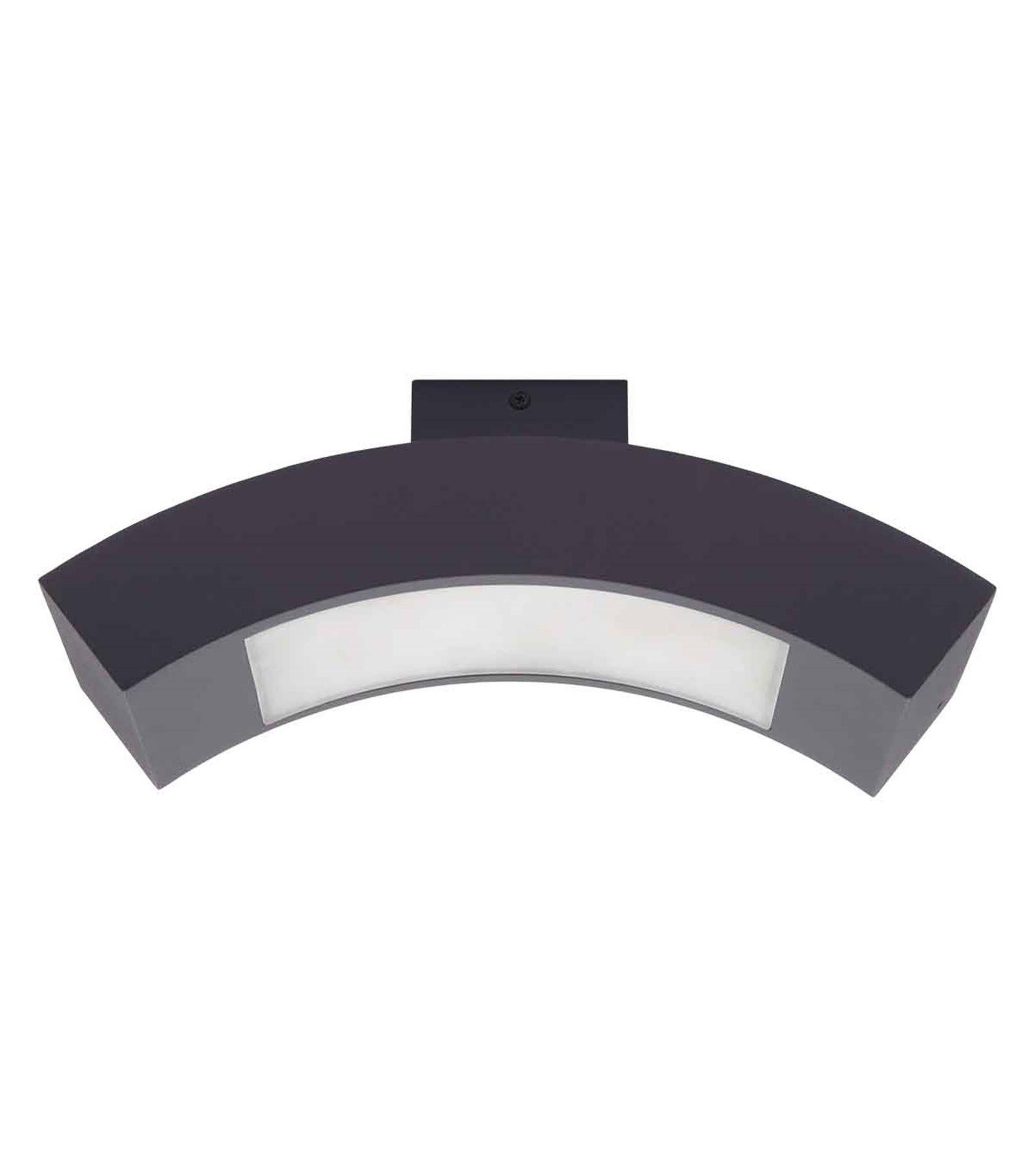 Luminaire pour plafond gris pegasi 2w led integr s ip44 for Suspension exterieur led