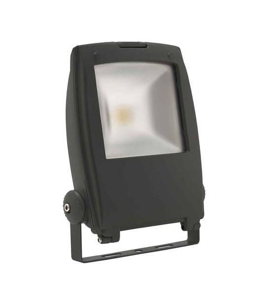 Projecteur noir RINDO MCOB 30W LED integrés IP65 Blanc neutre extérieur KANLUX - PROJECTEUR MURAL - siageo-led.com