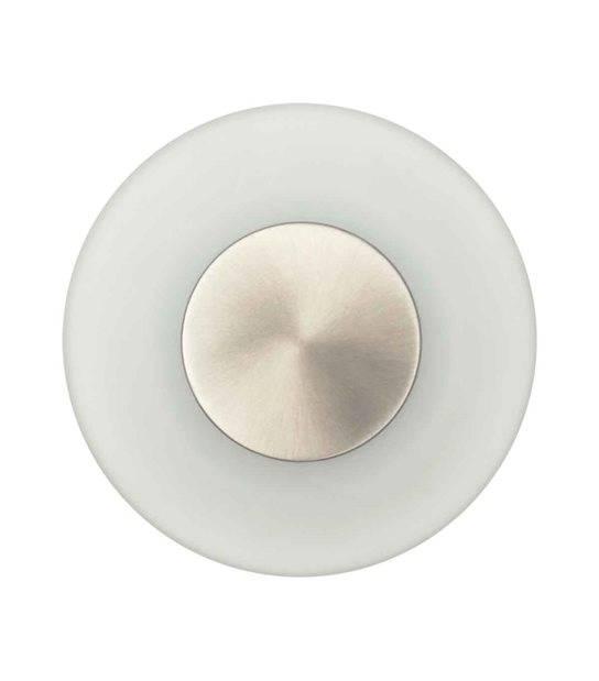 Applique murale Rond en verre dépoli ARLA 2W LED integrés IP44 Blanc éxterieur KANLUX - 18571 - APPLIQUE MURALE - siageo-led.com