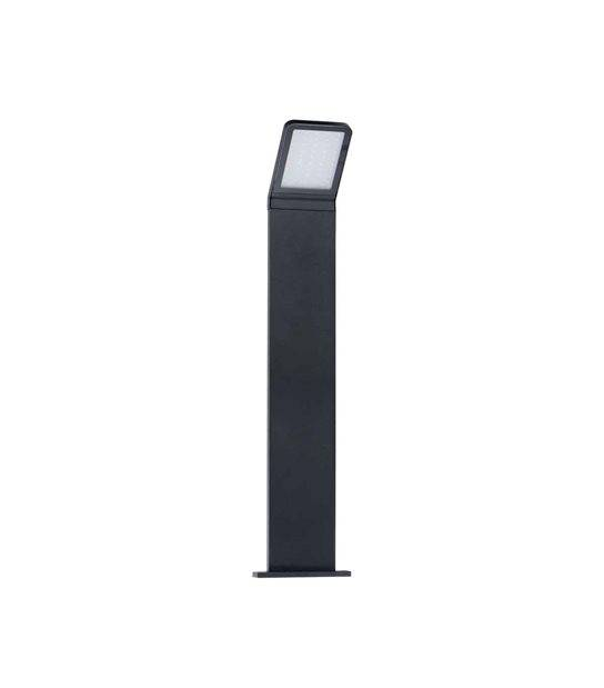Borne noir H50cm SEVIA 9W LED integrés IP54 Blanc neutre éxterieur KANLUX - BALISE ET BORNE - siageo-led.com
