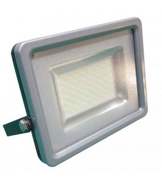 Projecteur gris 30W équiv 150W LED SMD intégrées IP65 Blanc Chaud extérieur V-TAC - CYBER WEEK - siageo-led.com