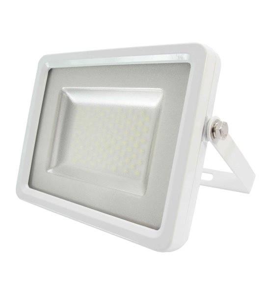 Projecteur blanc 50W équiv 250W LED SMD intégrées IP65 Blanc Chaud extérieur V-TAC - PROJECTEUR MURAL - siageo-led.com