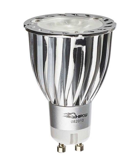 DESTOCKAGE Ampoule LED GU10 XP-E Q3 3x2W 6.5W 564Lm (équiv 40W) Blanc Neutre 36° CREE - GU10 - siageo-led.com