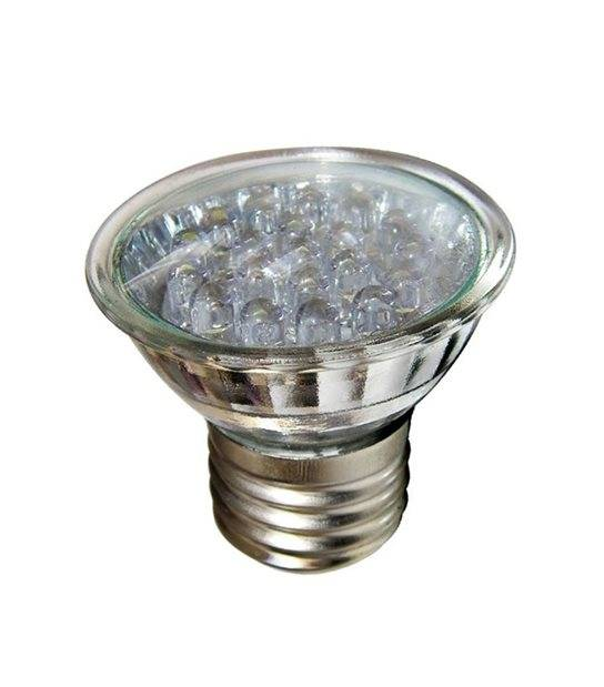 Ampoule LED E27 MR16 à 20 LEDs 1W 60Lm (équiv 20W) Bleu EASY CONNECT - E27 - siageo-led.com