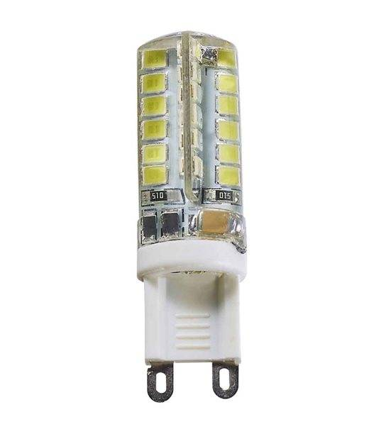 Ampoule LED G9 à 48 SMD2835 3W 380-400Lm Blanc Froid 360° HIPOW - G9 - siageo-led.com