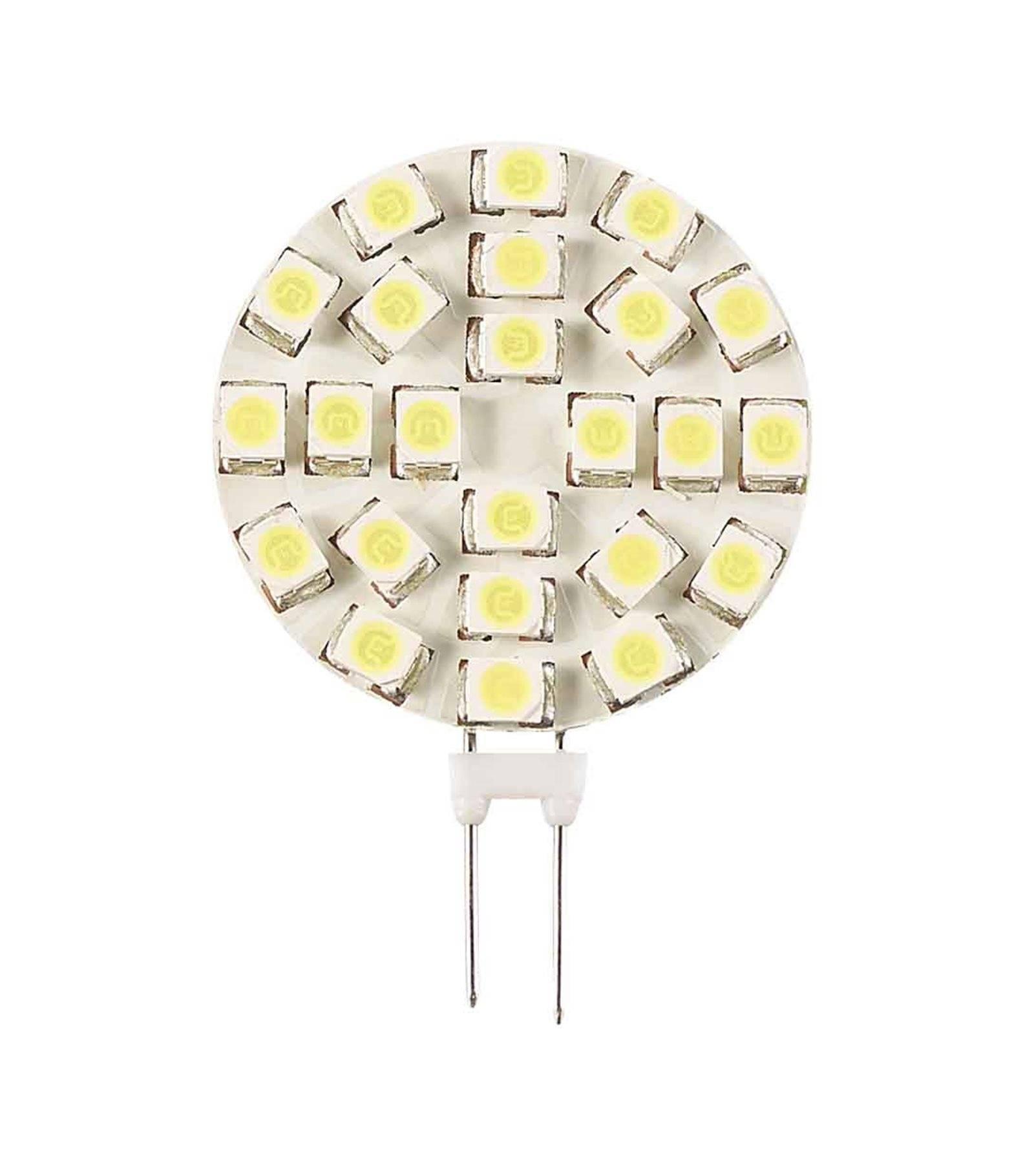 1 18smd3528 Ampoule Froid G4 120lméquiv 2w Plat 12v 120° 13wBlanc À Hipow Led A35q4LcSjR