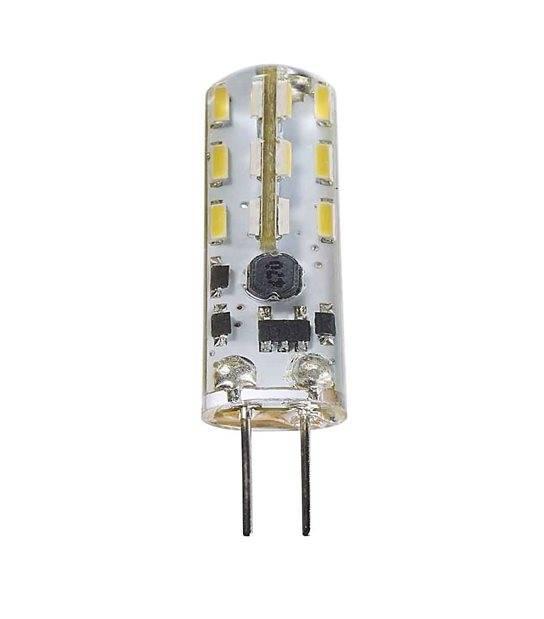 Ampoule LED G4 à 24 SMD 1.3W 90Lm (équiv 10W) Blanc neutre 360° 12V HIPOW - G4 - siageo-led.com