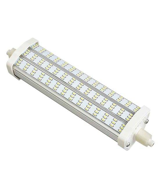 DESTOCKAGE Ampoule LED R7S J189 à 126 SMD 12W (équiv 100W) Blanc Chaud 150° HIPOW - R7S - siageo-led.com