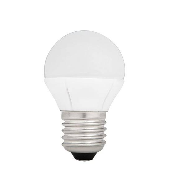 Ampoule LED E27 G45 SMD BILO 5.8W 410Lm (équiv 36W) Blanc Chaud KANLUX - E27 - siageo-led.com