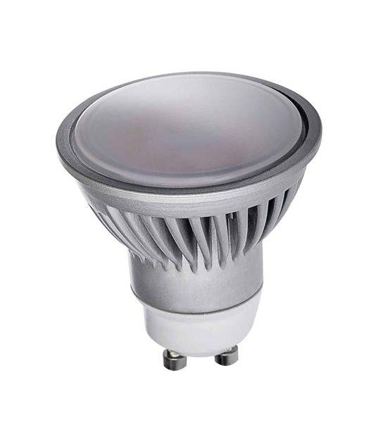 Ampoule LED GU10 à 18 SMD2835 TEDI 7W 530Lm (équiv 45W) Blanc Chaud 120° KANLUX - GU10 - siageo-led.com