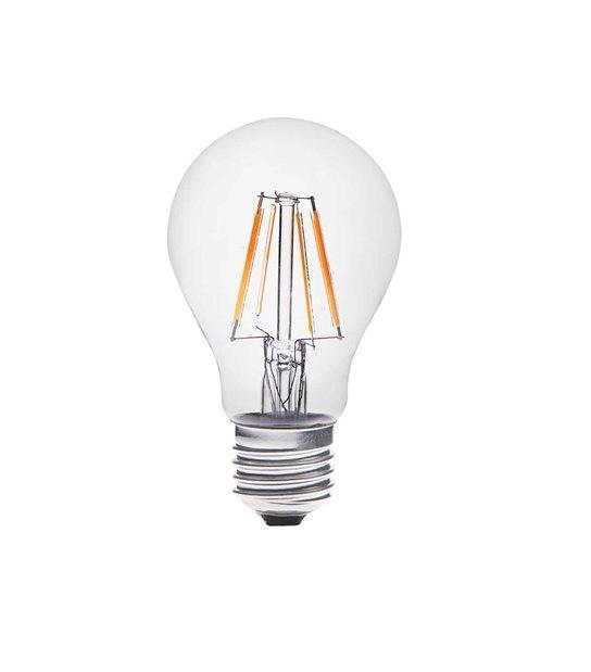 Ampoule LED E27 Filament COG DIXI 5W 420Lm (équiv 37W) Blanc Chaud KANLUX - CYBER WEEK - siageo-led.com