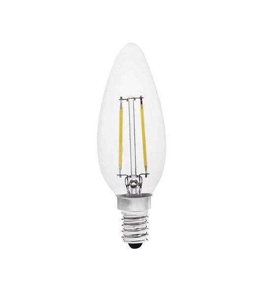 Ampoule LED E14 Filament COG ZIPI2W 200Lm (équiv 21W) Blanc Froid KANLUX - 22463 - CYBER WEEK - siageo-led.com