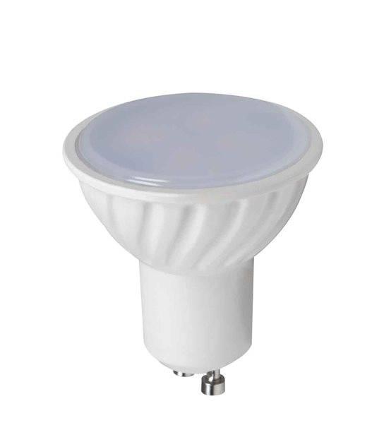 Ampoule LED GU10 SMD TOMI 3W 250Lm (équiv 25W) Blanc Chaud 120° KANLUX - GU10 - siageo-led.com