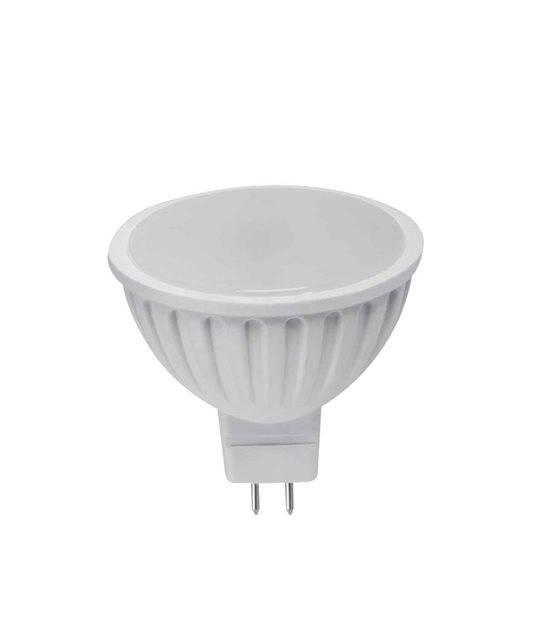 Ampoule LED GU5.3 MR16 SMD TOMI 5W 390Lm (équiv 35W) Blanc Chaud 120° 12V KANLUX - AMPOULE GU5.3 - siageo-led.com
