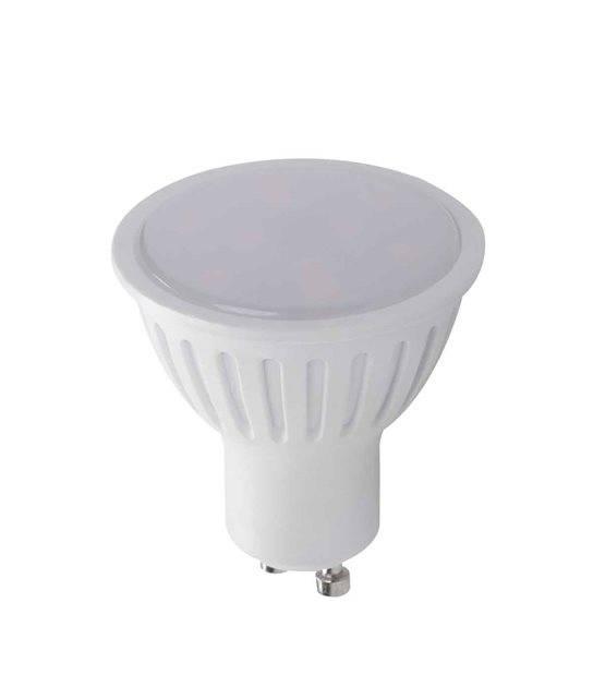 Ampoule LED GU10 SMD TOMI 1.2W 90Lm (équiv 10W) Blanc Froid 120° KANLUX - GU10 - siageo-led.com
