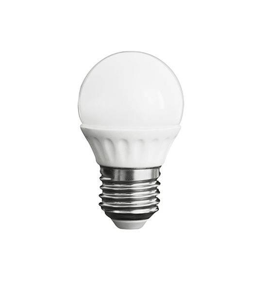 Ampoule LED E27 à 15 SMD 2835 BILO 3W 280Lm (équiv 27W) Blanc Chaud KANLUX - E27 - siageo-led.com