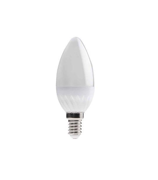 Ampoule LED E14 Flamme SMD DUN 3.5W 400Lm (équiv 35W) Blanc Chaud 230° KANLUX - E14 - siageo-led.com
