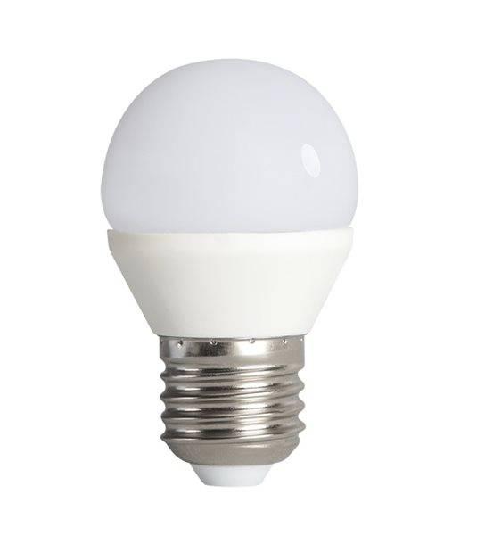 Ampoule LED E27 G45 à 15 SMD 2835 BILO 6.5W 600Lm (équiv 48W) Blanc neutre 200° KANLUX - E27 - siageo-led.com
