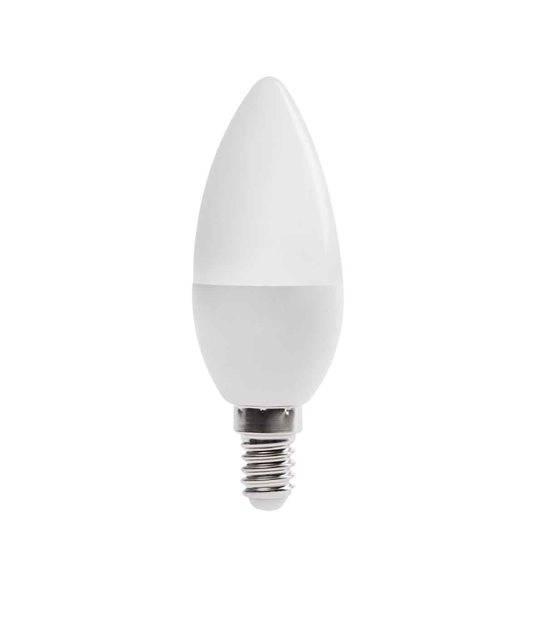Ampoule LED E14 Flamme SMD DUN 6.5W 600Lm (équiv 48W) Blanc Chaud 210° KANLUX - E14 - siageo-led.com