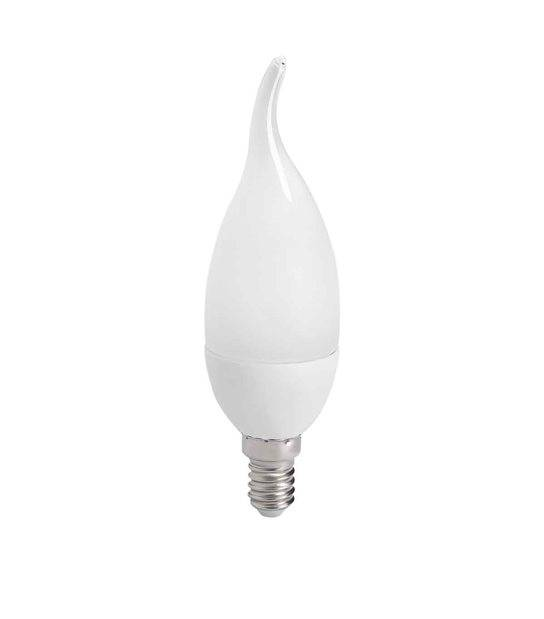 Ampoule LED E14 Flamme SMD IDO 6.5W 600Lm (équiv 48W) Blanc neutre 210° KANLUX - E14 - siageo-led.com