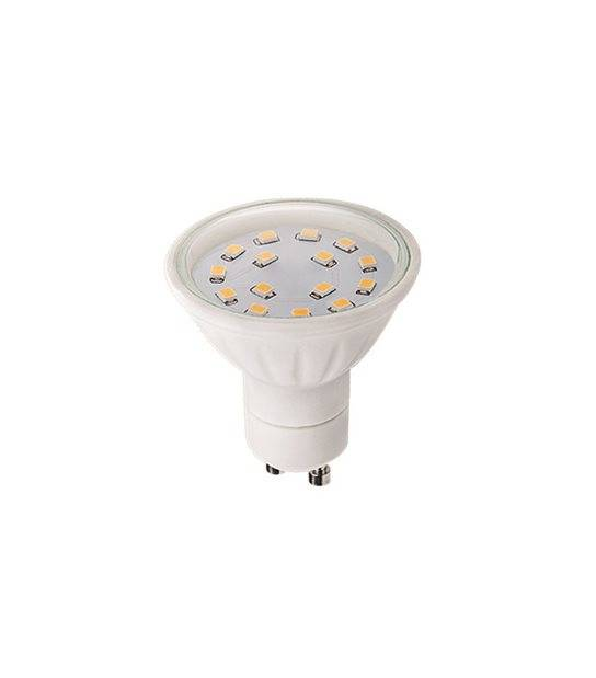 Ampoule LED GU10 à 15 SMD 5W 430Lm (équiv 37W) Blanc Chaud 120° KANLUX - GU10 - siageo-led.com