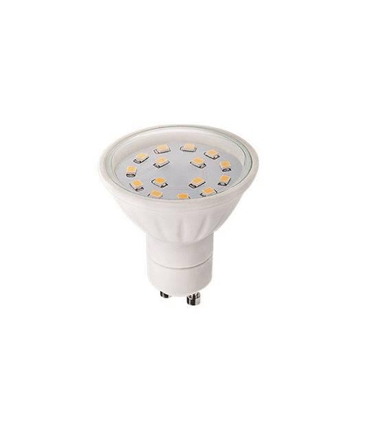 Ampoule LED GU10 à 15 SMD 5W 430Lm (équiv 37W) Blanc Froid 120° KANLUX - AMPOULE GU10 - siageo-led.com