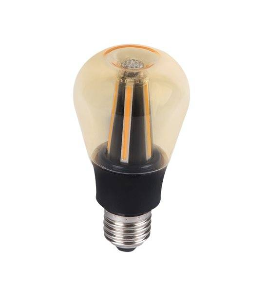 Ampoule LED E27 Filament COG APPLE 8W 800Lm (équiv 60W) Blanc Chaud KANLUX - FILAMENT - siageo-led.com