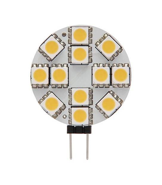 Ampoule LED G4 à 12 SMD5050 2.7W 180Lm (équiv 25W) Blanc Froid 150° 12V KANLUX - G4 - siageo-led.com