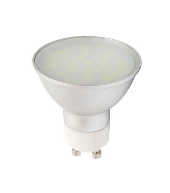 Ampoule LED GU10 à 27 SMD5630 CCD Converter 5W 360Lm (équiv 35W) Blanc Froid 120° LEDIN - GU10 - siageo-led.com