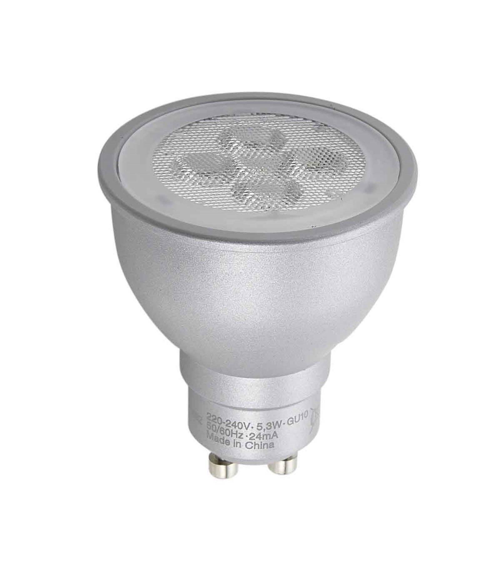 destockage ampoule led gu10 dimmable parathom par16 5 3w 350lm quiv 50w blanc chaud 36 osram. Black Bedroom Furniture Sets. Home Design Ideas