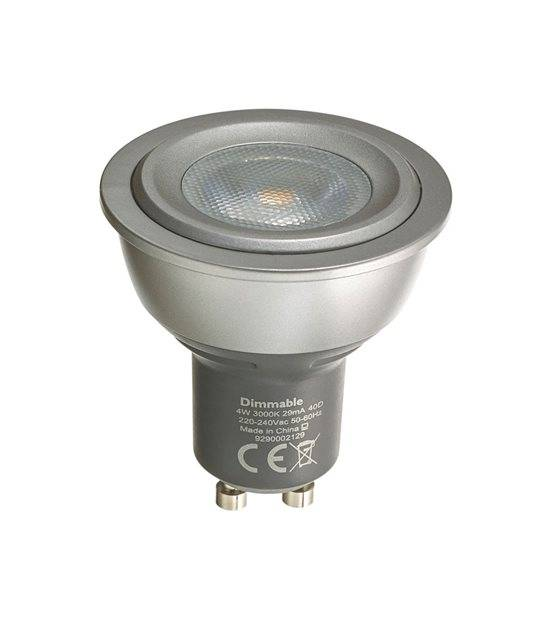 DESTOCKAGE Ampoule LED GU10 Réflecteur Dimmable MASTER LEDspot MV D 4W 180Lm (équiv 35W) Blanc Chaud 40° PHILIPS - GU10 - siageo-led.com