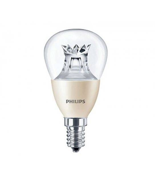 Ampoule LED E14 P48 Dimmable MASTER LEDlustre 6W 470Lm (équiv 40W) Blanc Chaud PHILIPS - 45358200 - CYBER WEEK - siageo-led.com