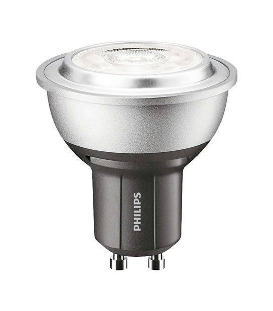 Ampoule LED GU10 Dimmable MASTER LEDspot MV D 5.4W 402Lm (équiv 50W) Blanc Chaud 40° PHILIPS - GU10 - siageo-led.com