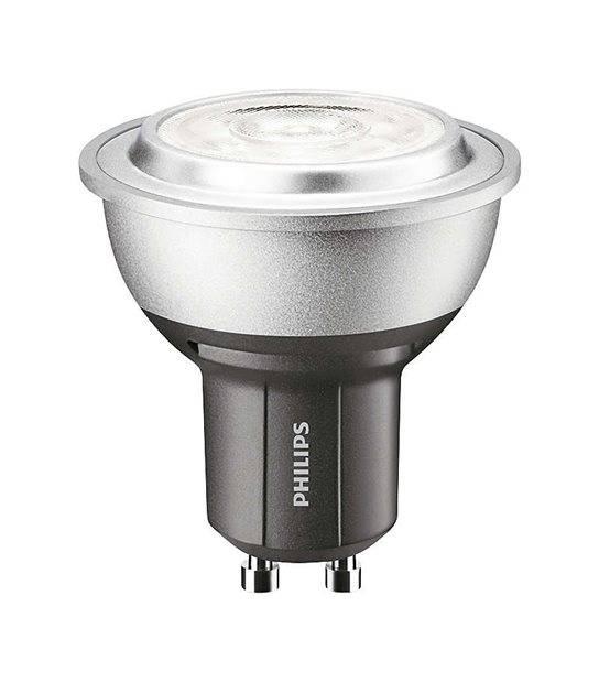 Ampoule LED GU10 Dimmable MASTER LEDspot MV D 4W 307Lm (équiv 35W) Blanc neutre 25° PHILIPS - GU10 - siageo-led.com