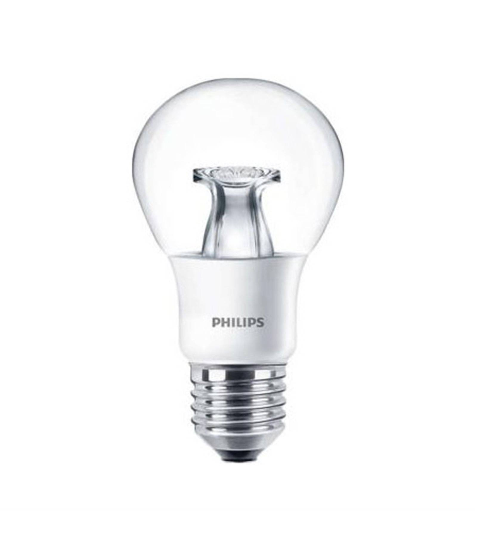 ampoule led e27 a60 dimmable master ledbulb dimtone 6w 470lm quiv 40w blanc chaud philips. Black Bedroom Furniture Sets. Home Design Ideas