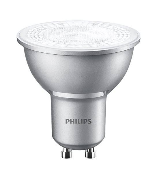 Ampoule LED GU10 Dimmable MASTER LEDspot MV VLE D 4.3W 420Lm (équiv 50W) Blanc Chaud 40° PHILIPS - GU10 - siageo-led.com