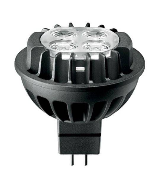 Ampoule LED GU5.3 MR16 Dimmable MASTERLED Airflux 7W 410Lm (équiv 35W) Blanc chaud 36° 12V PHILIPS - GU5.3 - siageo-led.com