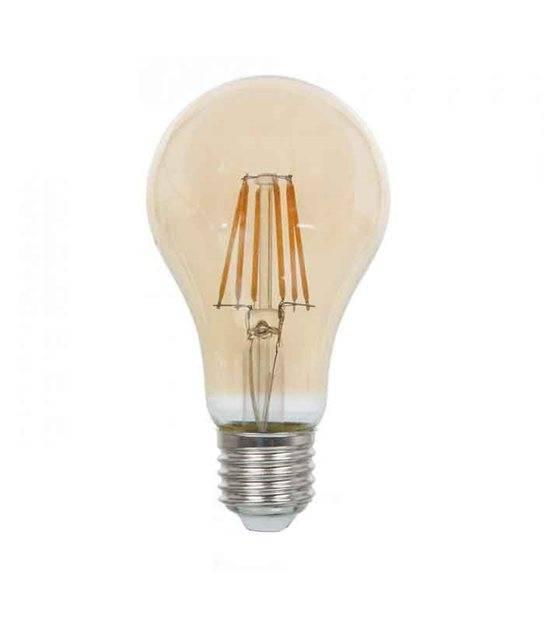 Ampoule LED E27 A67 Filament COG 8W 720Lm (équiv 60W) Blanc très chaud 300° IP20 V-TAC - 1958 - CYBER WEEK - siageo-led.com
