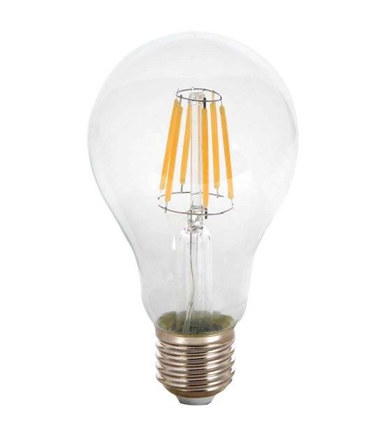 Ampoule LED E27 A67 Filament COG 8W 800Lm (équiv 60W) Blanc Chaud 300° IP20 V-TAC - 1978 - FILAMENT - siageo-led.com