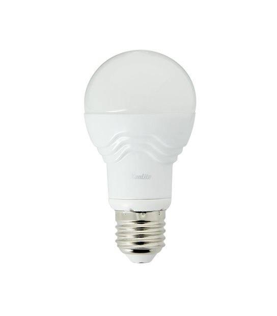 Ampoule LED E27 A60 SMD 4.8W 353Lm (équiv 32W) Blanc Chaud 110° XANLITE - E27 - siageo-led.com