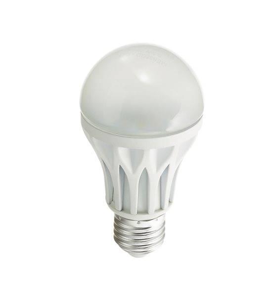 Ampoule LED E27 A60 Dimmable SMD 6.6W 638Lm (équiv 40W) Blanc Chaud 110° XANLITE - E27 - siageo-led.com