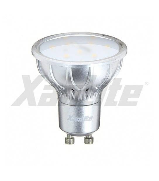 Ampoule LED GU10 SMD 5.5W 320Lm (équiv 35W) Blanc Chaud 100° XANLITE - CYBER WEEK - siageo-led.com
