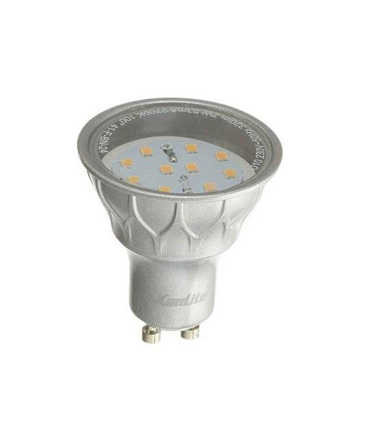 Ampoule LED GU10 SMD 6.5W 345Lm (équiv 50W) Blanc Chaud 60° XANLITE - GU10 - siageo-led.com