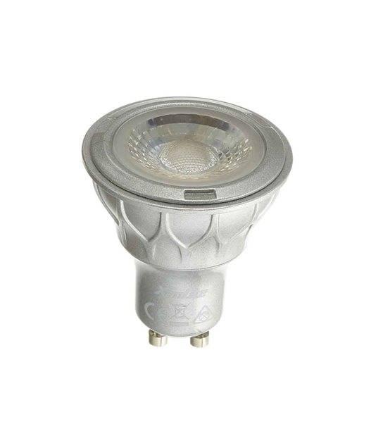 Ampoule LED GU10 Dimmable SMD 4.2W 345Lm (équiv 50W) Blanc Chaud 60° XANLITE - GU10 - siageo-led.com