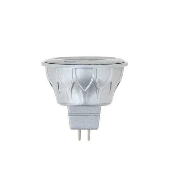 Ampoule LED GU5.3 MR16 SMD 6.8W 345Lm (équiv 35W) Blanc Chaud 60° 12V XANLITE - AMPOULE GU5.3 - siageo-led.com