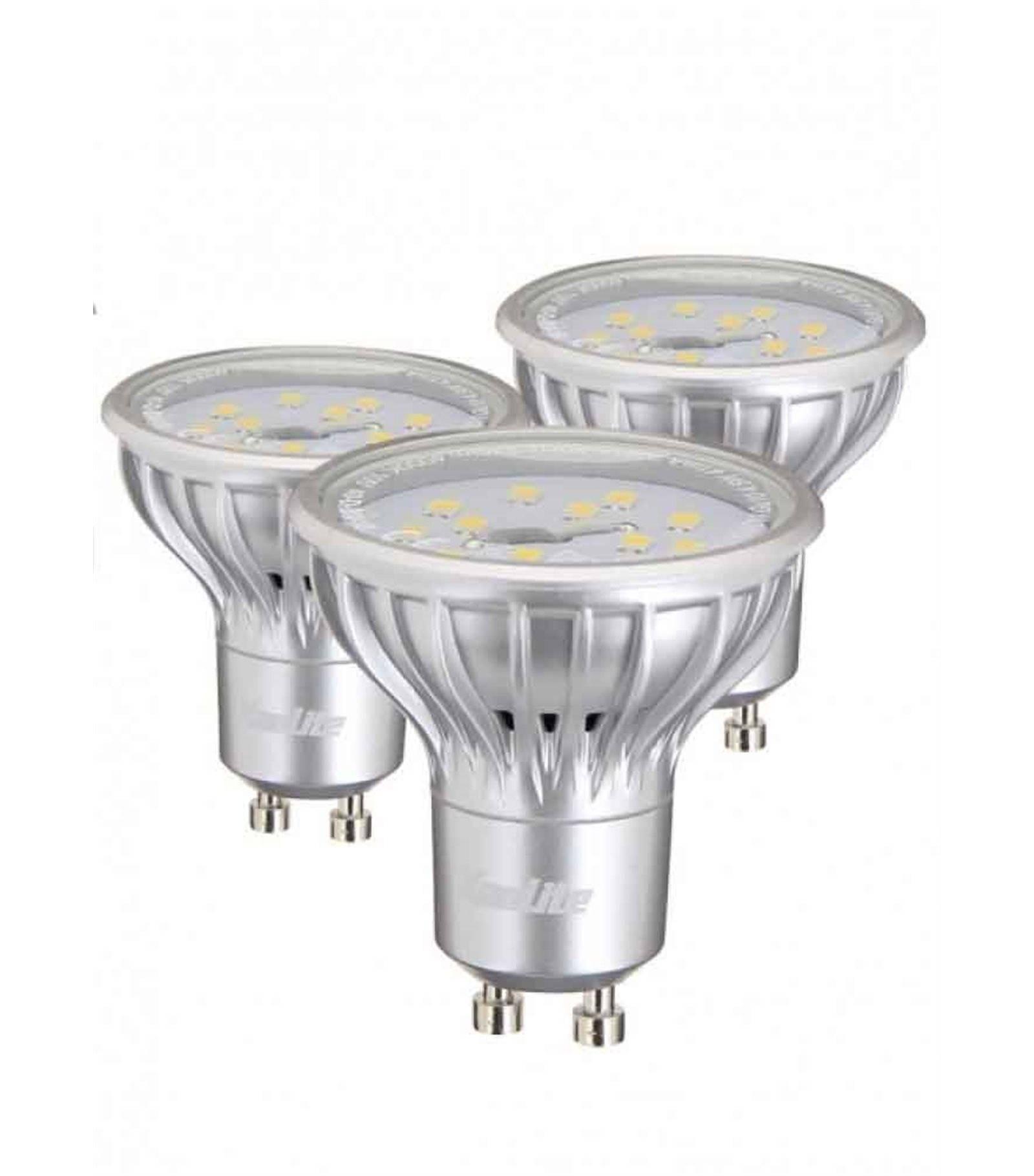 lot de 3 ampoule led gu10 smd 2 3w 130lm quiv 25w blanc chaud 110 xanlite gu10 siageo. Black Bedroom Furniture Sets. Home Design Ideas