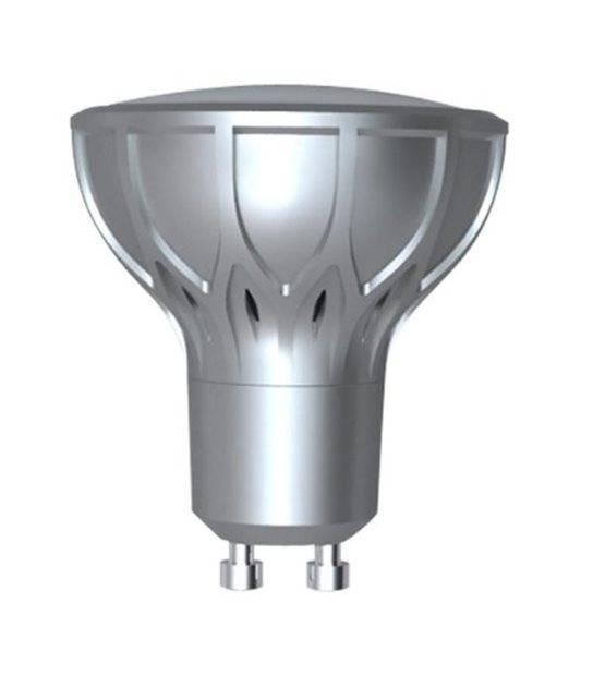 LOT DE 2 Ampoule LED GU10 SMD 2.8W 180Lm (équiv 35W) Blanc Chaud 110° XANLITE - GU10 - siageo-led.com