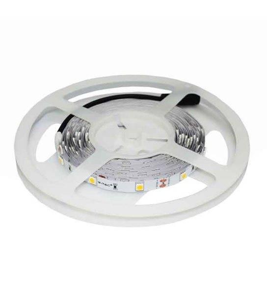 Ruban LED à 150 LEDs SMD5050 sécable RGB non-étanche bande LED de 5 mètresM 24W V-TAC - 2124 - CYBER WEEK - siageo-led.com