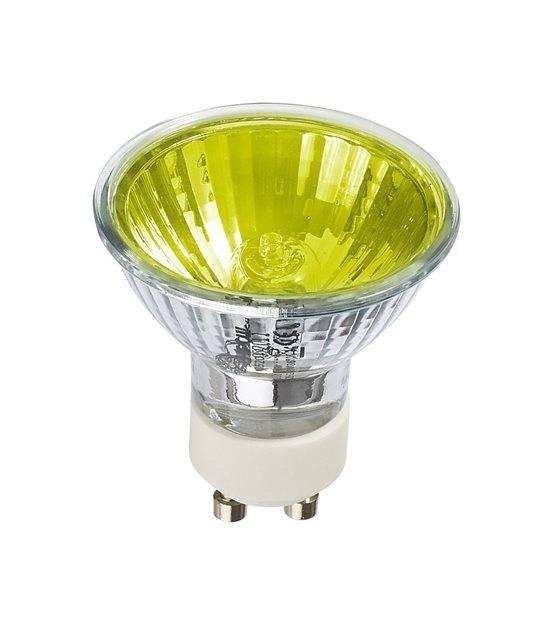 Ampoule ECO Halogène GU10 28W équiv 35W Jaune 36° HIPOW - CYBER WEEK - siageo-led.com